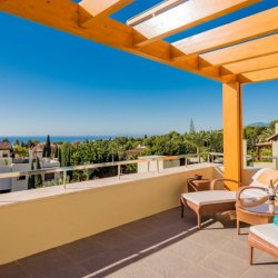 Architectural duplex penthouse on Marbella's Golden Mile