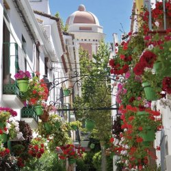 The gorgeous town of Estepona, a hidden gem on the Costa del Sol