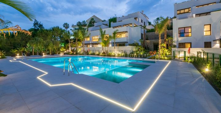 New build grand floor apartment for sale in Marbella
