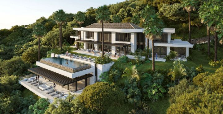New luxury 6-bedroom villa for sale in Benahavis, Marbella West