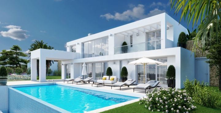 New modern villa for sale in La Mairena, Marbella East