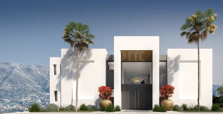 Luxury new build villa for sale in La Mairena, Marbella East