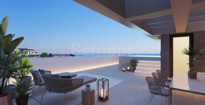 Modern new build apartment for sale in Cancelada, Estepona