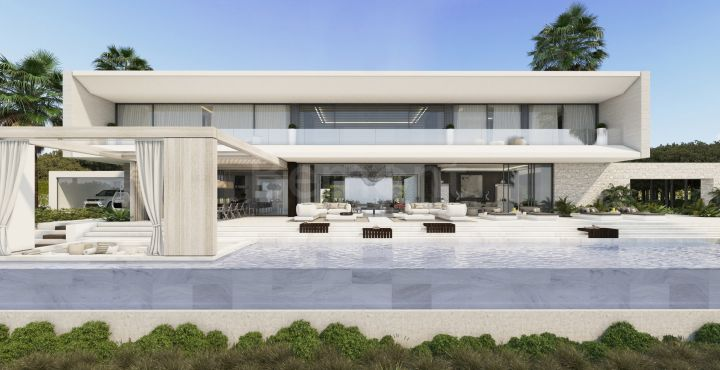 Spectacular new build villa for sale in El Madronal, Benahavis