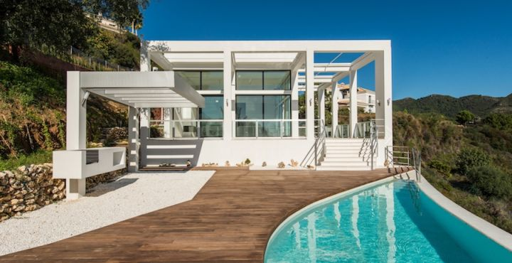 Modern newly built villa for sale in Monte Mayor, Benahavis