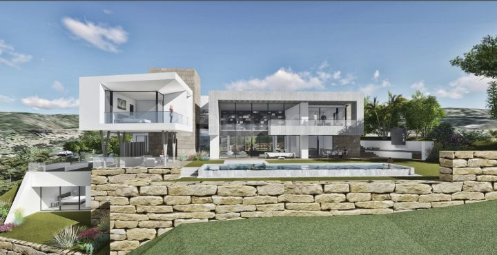 Modern newly built villa for sale in Los Arqueros, Benahavis
