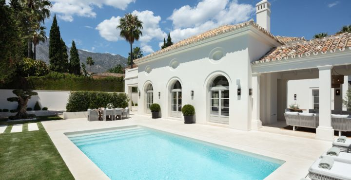 Spectacular luxury villa for sale in Nagueles, Marbella Golden Mile