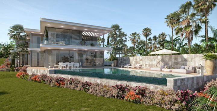 Brand new modern golf villa for sale in Cabopino, Marbella East
