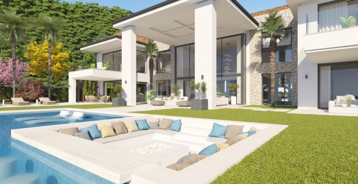 Stunning brand new villa for sale in El Madronal, Benahavis