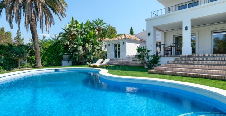 Beautifully renovated golf villa for sale in Guadalmina Alta, San Pedro de Alcantara