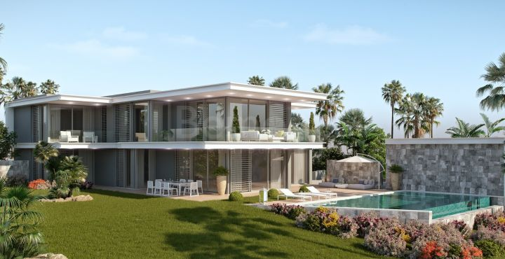 Amazing new build golf villa for sale in Cabopino, Marbella East