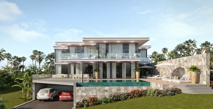 Outstanding front line golf villa for sale in Cabopino, Marbella East