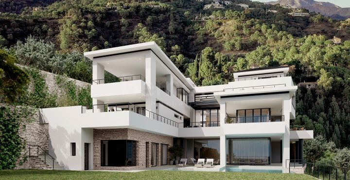 Outstanding new build luxury villa for sale in La Reserva de Alcuzcuz, Benahavis