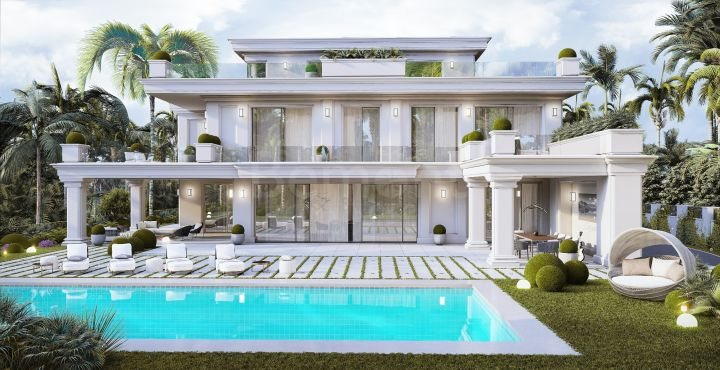 Luxury new build villa for sale in Marbella Golden Mile