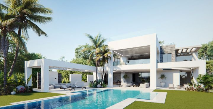 Luxury brand new villa for sale in Marbella West