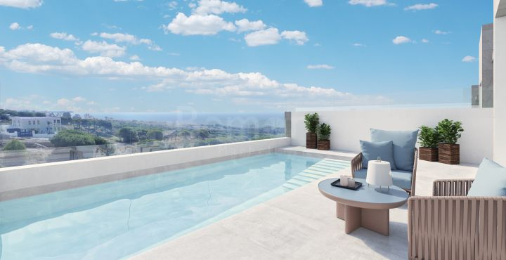 Brand new modern townhouse with sea views for sale in Marbella East