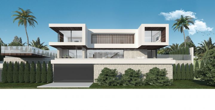 Modern new build villa with sea views in Lomas de Mijas, Marbella East