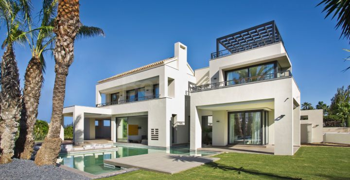 Brand new luxury villa for sale in Casasola, Estepona