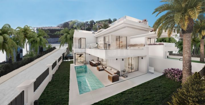 Luxury 4-bedroom villa for sale in Marbella Golden Mile