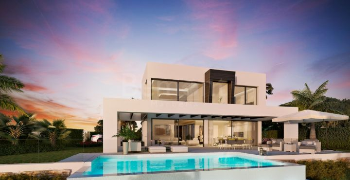 Modern 6 bedroom villa for sale in Mijas, Marbella East