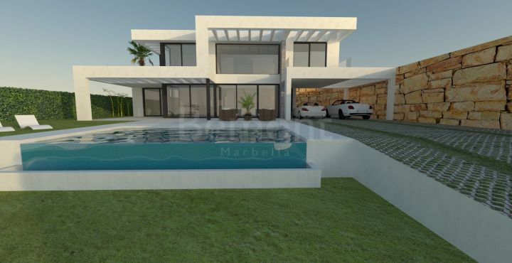 Contemporary villa for sale in Mijas, Marbella East