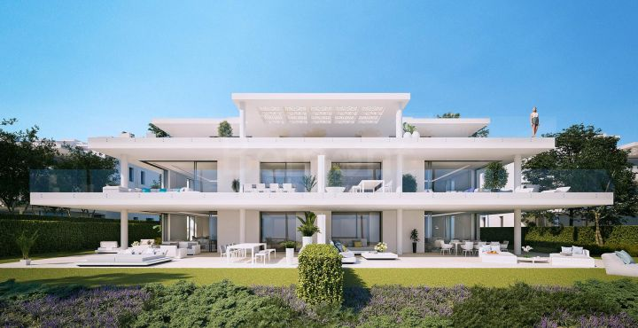 Appartement de luxe moderne à vendre à Estepona, Marbella Occident.