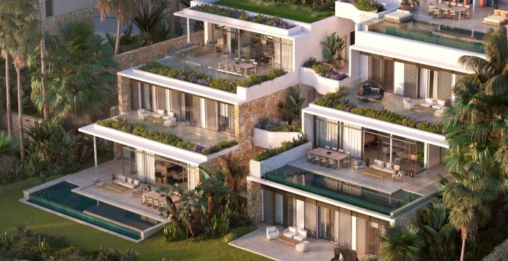 Luxury golf apartments and penthouses in a privileged natural environment