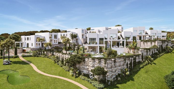 Stunning Scandinavian villas for sale in Calahonda, Mijas Costa