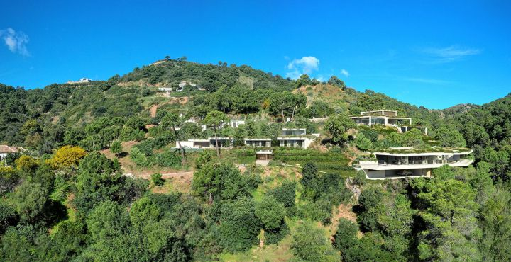 Outstanding new villas for sale in a natural surrounding in Monte Mayor, Benahavis