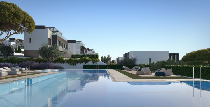 Brand new townhouses for sale in Atalaya Golf, Estepona