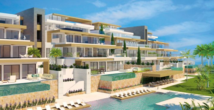 New apartments and penthouses for sale in Benahavis, Marbella West