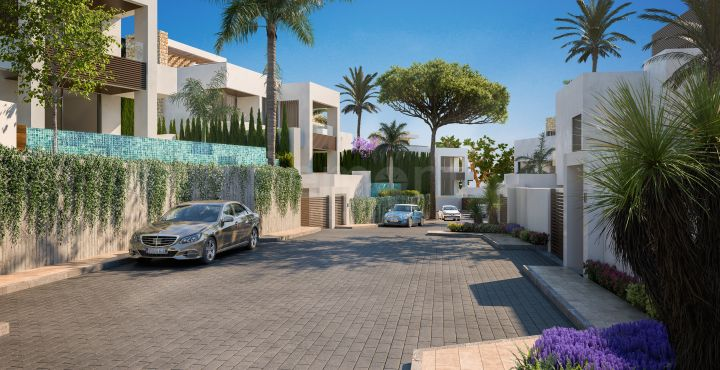 4-Bedroom new build villas for sale in Marbella Golden Mile