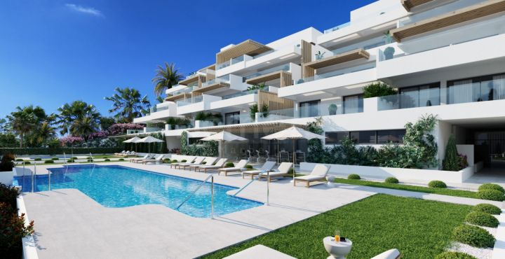 Studios, apartments and penthouses with sea views for sale in Estepona