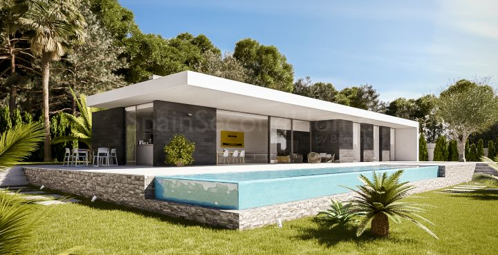 Modern villa for sale in Monte Pego, Costa Blanca North