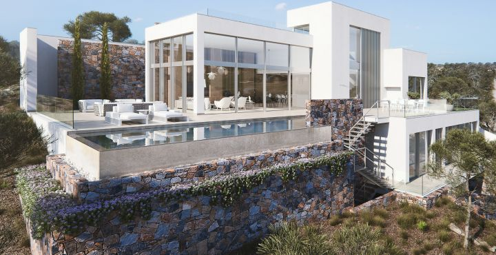 Luxury brand new villa for sale in Las Colinas Golf, Orihuela