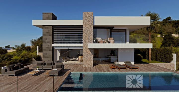 Modern 3-bedroom villa with sea views for sale Benitachel, Costa Blanca North