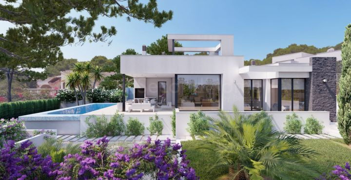 Contemporary villa for sale in Benissa Costa, Costa Blanca North