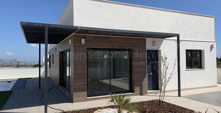 Modern 3 bedroom villa for sale in Polop, Costa Blanca North