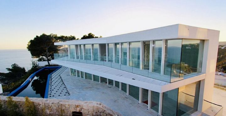 Front line beach luxury villa for sale in Javea, Costa Blanca North