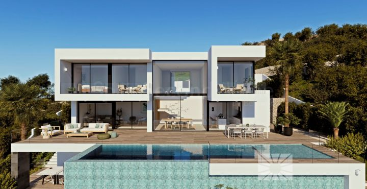 Contemporary 3-bedroom villa for sale in Benitachel, Costa Blanca North