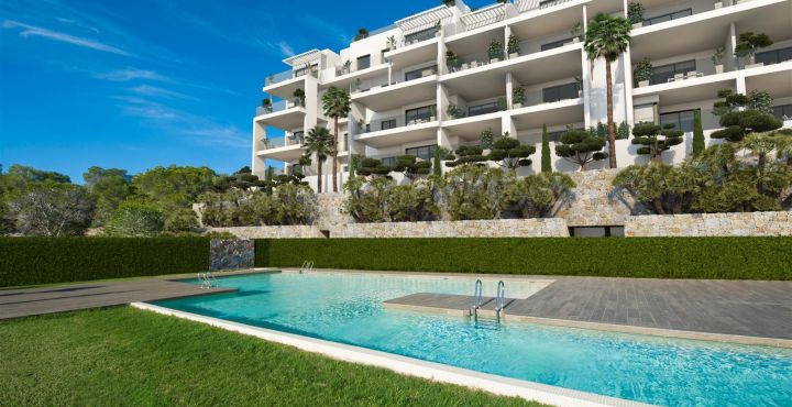 Brand new golf apartment for sale in Costa Blanca South
