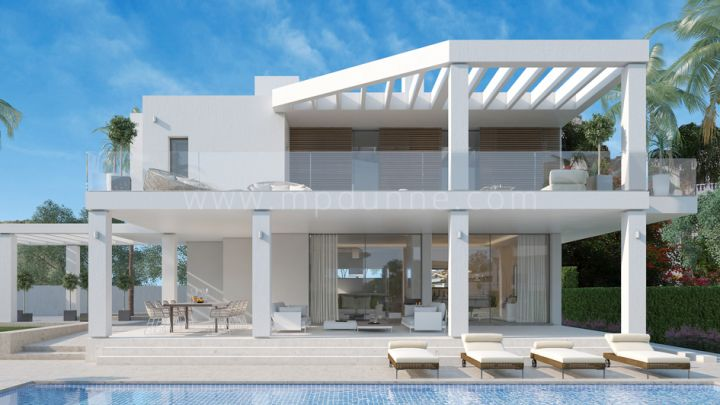 Benahavis, La Quinta golf, Modern contemporary villa with sea views