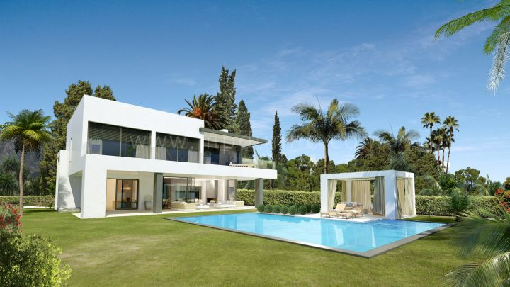 Marbella Golden Mile, Lomas del Marbella Club, Stunning Contemporary Villa