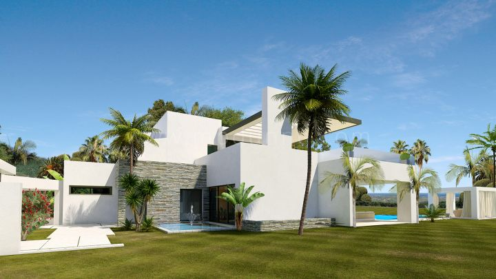 Marbella Golden Mile, Lomas del Marbella Club New Modern Contemporary Luxury Villa