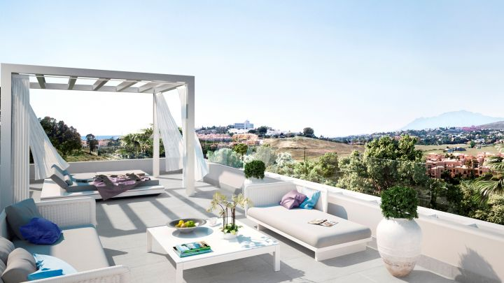 Estepona, Cataleya, Fase 1, Atalaya Alta, Off Plan Luxury apartments and penthouse