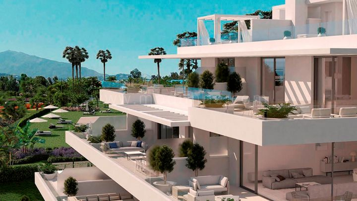 Estepona, Cataleya, Fase 1, Atalaya Alta, Off Plan Luxury apartments and penthouses