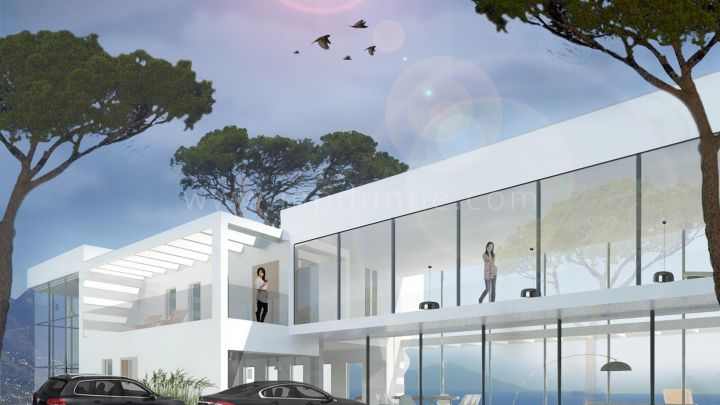 Marbella East, La Mairena, Marbella East, Contemporary Villa Under Construction