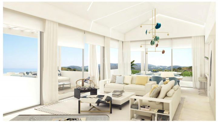 Benahavis, New luxury off plan project of apartments and villas in Marbella Club Hills, Benahavis.