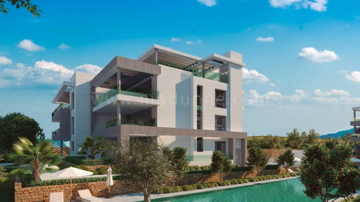 Estepona, SYZYGY HOMES - The Residences, El Paraiso, Contemporain plan Off Apartments