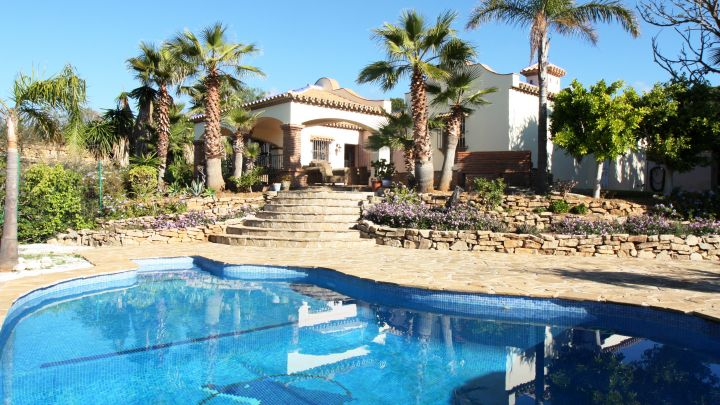Михас Коста, Mijas Golf, Mijas Costa, Country Villa 4 спальни